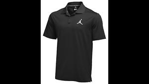 9aa97af8b4 Nike Jordan Jumpman Team Men's Polo Shirt Dri-Fit Black 840525 010 ...