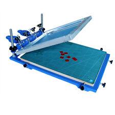 1color 3d Screen Printing Machine Micro Registration Silk Screen Printing Press