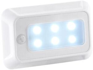 Lampada Led Luce Notturna A Batterie Con Sensore Di Movimento Crepuscolare Notte Ebay