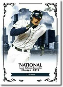 ICHIRO-2013-LEAF-NATIONAL-EXCLUSIVE-COLLECTORS-PROMO-CARD