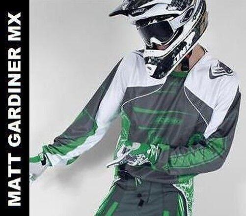 Alloy 06 Viper Motocross MX Maglia Rosso Gara Shirt Enduro Moto MTB Top Nuovo