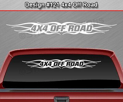 Design #113 SUPERCHARGED Windshield Decal Sticker Window Graphic Tribal Banner