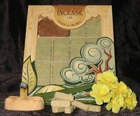 Fir Balsam Wood Incense - 100 Bricks Plus Burner - Incienso De Santa Fe, New, Fr on sale