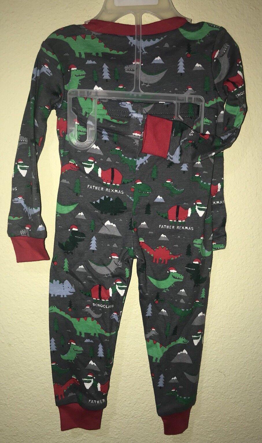 The Childrens Place Baby Girls Dinosaur Pajama Set