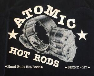 Atomic-Hot-Rod-Quick-Change-Shirt-Black-Medium-Chev-Ford-Harley-Triumph