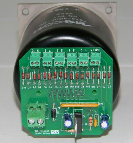 controllo MA-COM 7573-4002-00 switch coassiale 10 vie