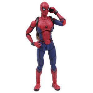 Spider-Man-Homecoming-Spiderman-Figuarts-Action-Figure-Figurine-Model-Toys