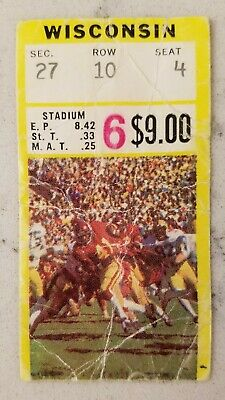Minnesota Gophers vs Wisconsin Badgers Football Ticket ...