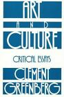 Beacon Paperback: Art and Culture : Critical Essays Vol. 212 by Clement Greenberg (1971, Paperback)