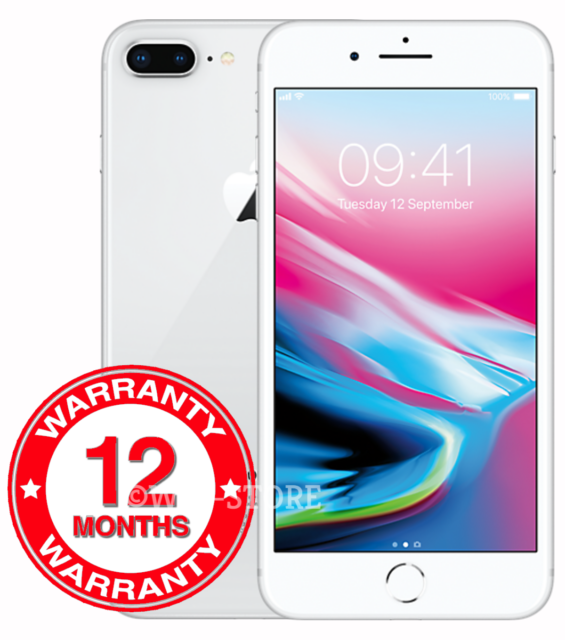 547115b330b Apple iPhone 8 Plus 64GB A1897 (GSM) (Unlocked) - Silver | Compra ...