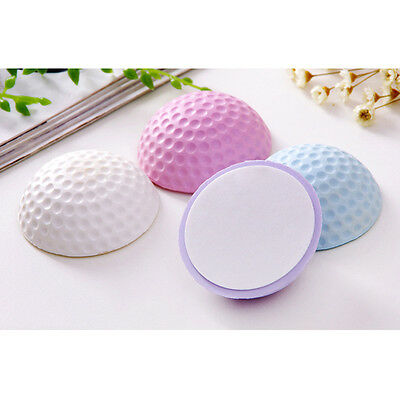 Round Self Adhesive Door Handle Bumper Guard Stopper Rubber Wall Protector New