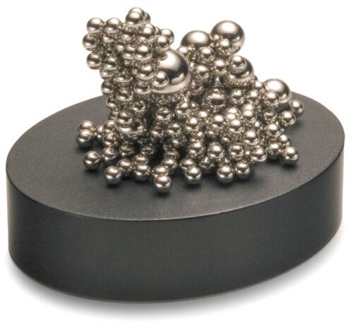 Philippi Stresskiller Stahlkugeln Magnetsockel Schreibtisch-Objekt Geschenk