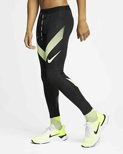 Details about NIKE Power Tech Men's Running Tight Fit AJ7998 013 BlackBarley Volt 2XL NWT
