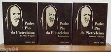 Padre Pio da Pietralcina - Prima Edizione Edisu - Bari 1997 - 3 volumi