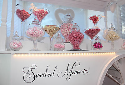 Candy Cart Sweet Cart for Hire - Weddings, Shabby Chic, Vintage, Retro