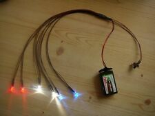 S070 LED Beleuchtung Xenon RC Tuning Unterbodenbeleuchtung 1:8 1:10 1:18 1:24