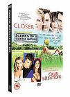 Closer/Scenes Of A Sexual Nature/Cruel Intentions (DVD, 2008, 3-Disc Set, Box Set)