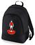 Football-TEAM-KIT-COLOURS-Charlton-Supporter-unisex-backpack-rucksack-bag miniatuur 2