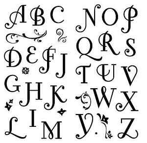 Inkadinkado-Clear-Stamps-Coffee-House-Alphabet-Letters