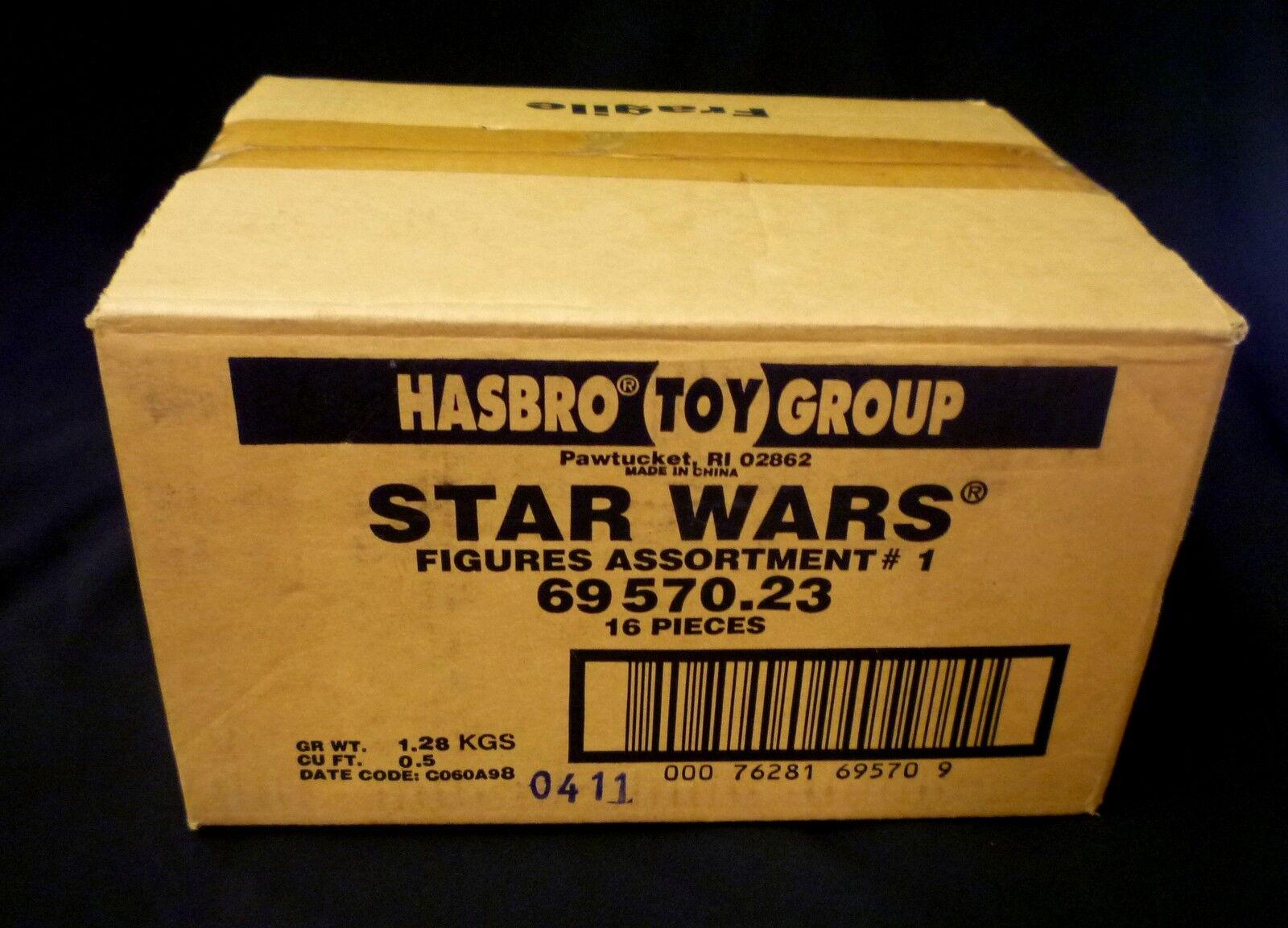 Estrella Guerras Hasbro azione cifra cifra cifra Case 69570.23 Factory Sealed . 8dd1e2
