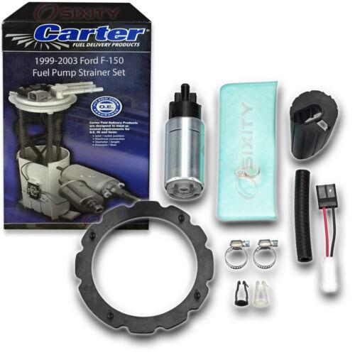 Carter Fuel Pump Strainer Set for 1999-2003 Ford F-150 4.2L V6 5.4L 4.6L V8 wr