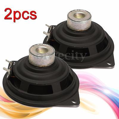 2PCS 4'' inch 4Ohm 4Ω Mini Neodymium magnetic Full-range Speaker For Car Family