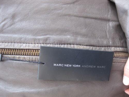NWT NEW $599 Marc New York ANDREW MARC MEN/'S DESIGNER BIKER STYLE LEATHER JACKET