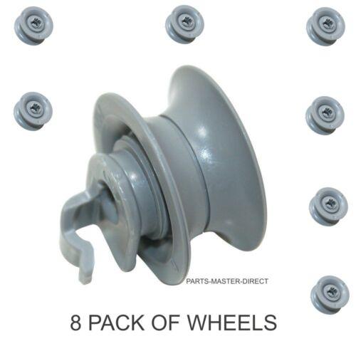 Adatto a Bosch Siemens Neff Lavastoviglie Cestello Superiore superiore ruota 165313-8 Confezione