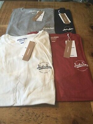 Jack /& Jones Chest Logo Simons T shirt 4 colours S-XXL regular fit