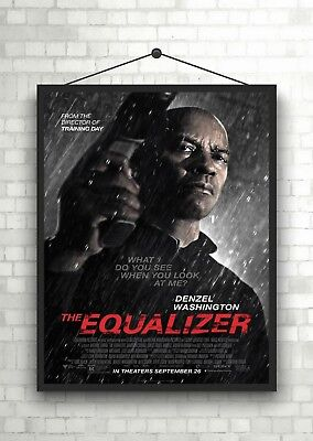 The Equalizer Classic Movie Poster Art Print A0 A1 A2 A3 A4 Maxi