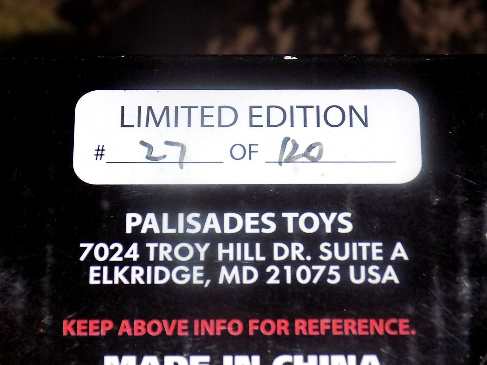 Palisades unmasked PROTator Micro Bust  of 27 of  120 Aliens Ufo Creatures Movie 94c9e4