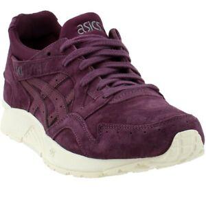asics mens purple