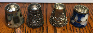Thimbles 4 Alpaca Silver Mother of Pearl