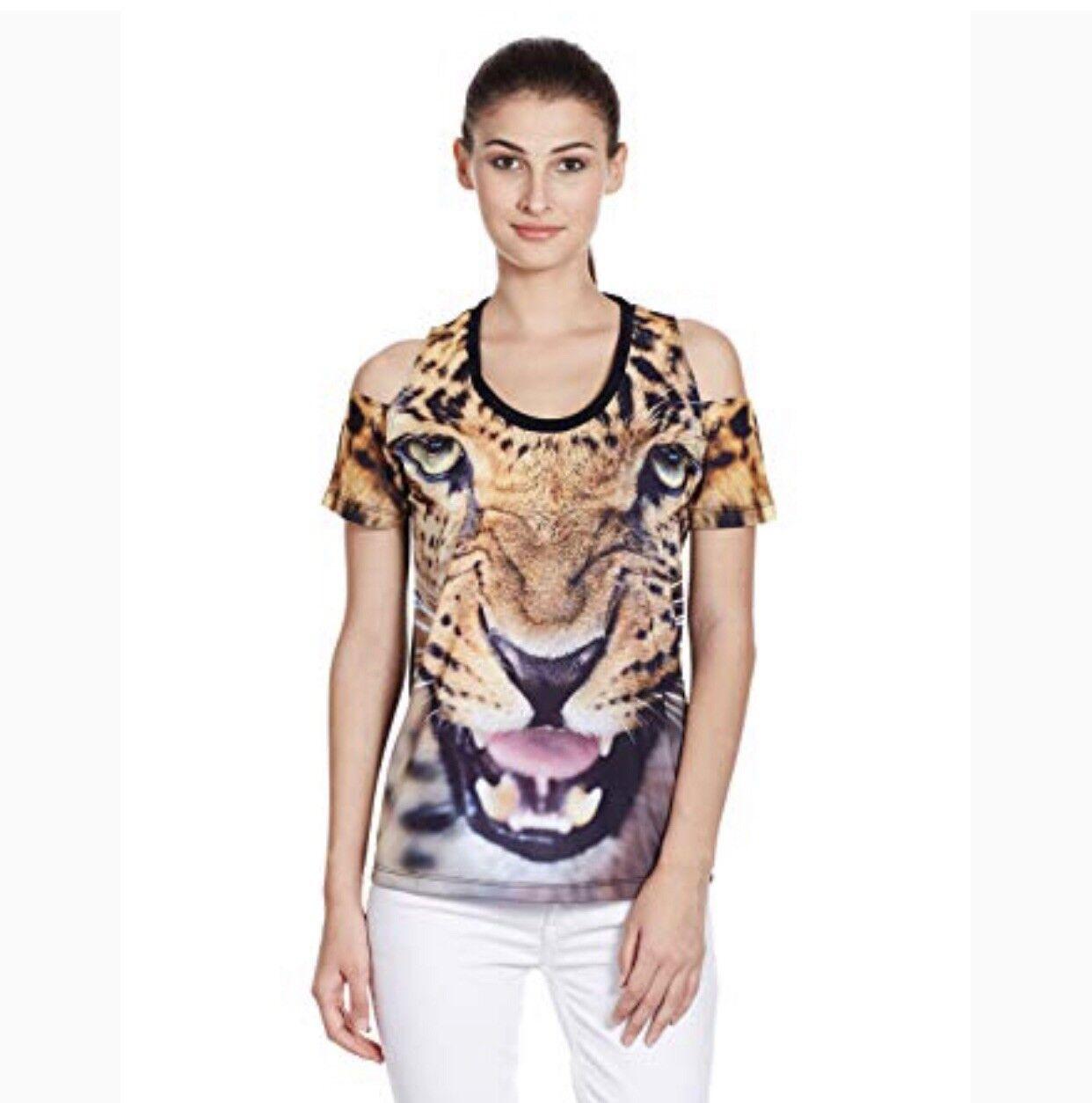 Adidas Original Jaguar Face Graphic ΓυναικΡία T-shirt μΡγέθους M / L