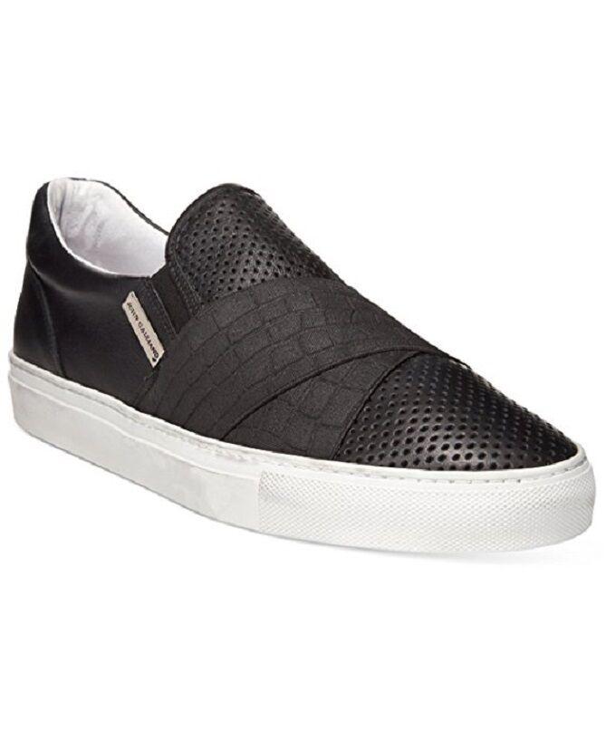 385 John Galliano Men Alden Strap Slip On Sneaker US 10.5 EU 43.5 MADE IN ITALY