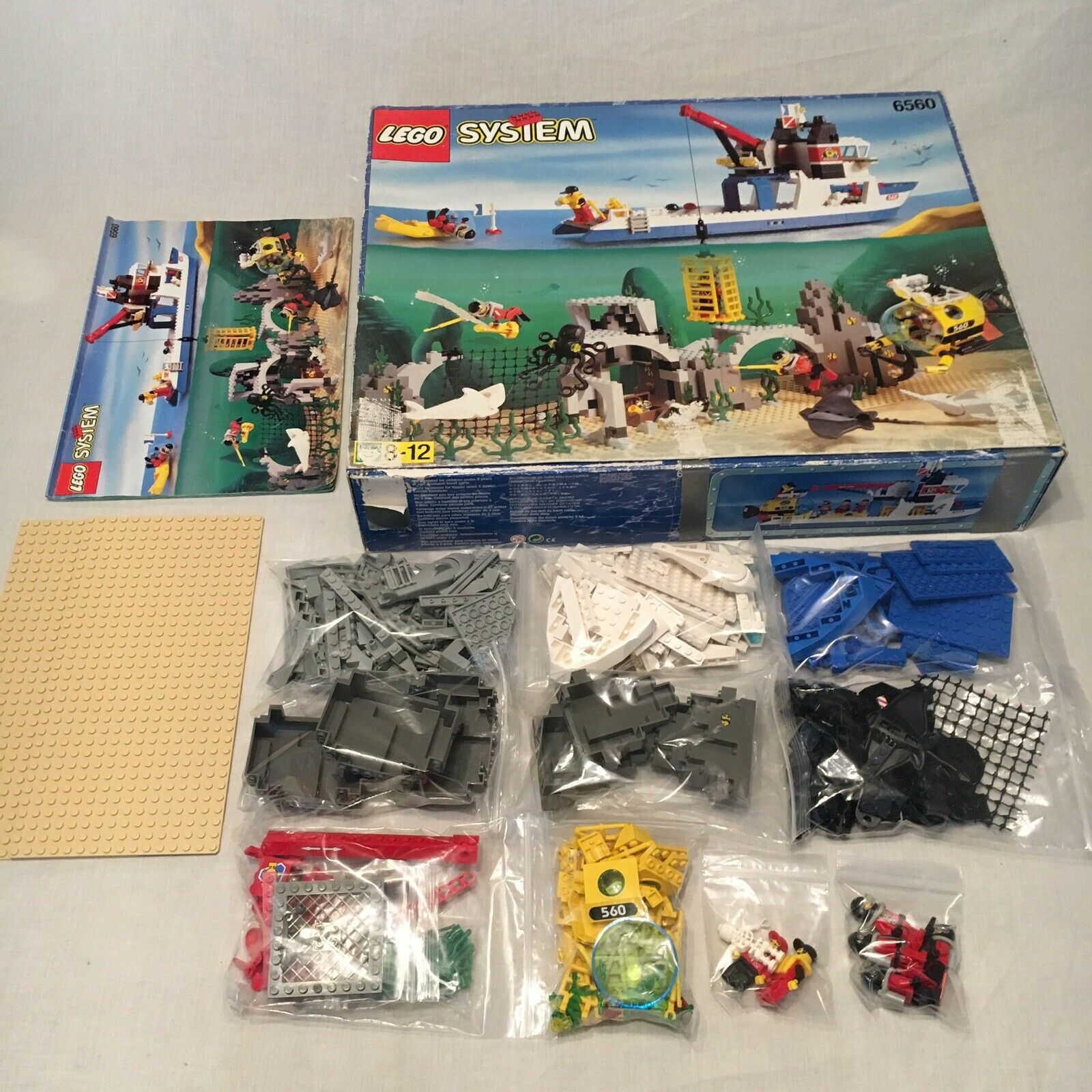 LEGO 6560 Diving Expedition Explorer (1997) - Vintage Set COMPLETE Box + Instr..