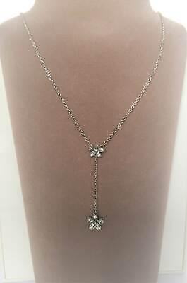 Frauen stilvolle süße Kristall Halskette Legierung Halskette Schmuck R4V5