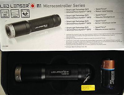 LED Lenser M1 Taschenlampe bis 300 lm 65 g  8301