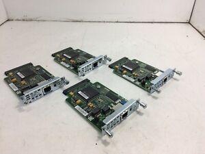 Lot-of-4-Cisco-WIC-1DSU-T1-1-Port-T1-DSU-CSU-Module