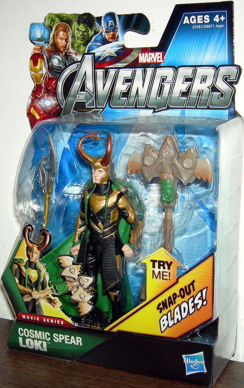 THE AVENGERS Movie Collection_Cosmic Spear LOKI 3.75