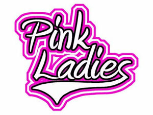 Pink ladies grease logo