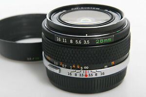 Olympus-Zuiko-Auto-W-28mm-f3-5-Wide-Angle-Lens-manual-focus