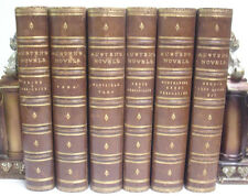 1875 6 Volume Set THE NOVELS OF JANE AUSTEN Pride And Prejudice*VICTORIAN BEAUTY