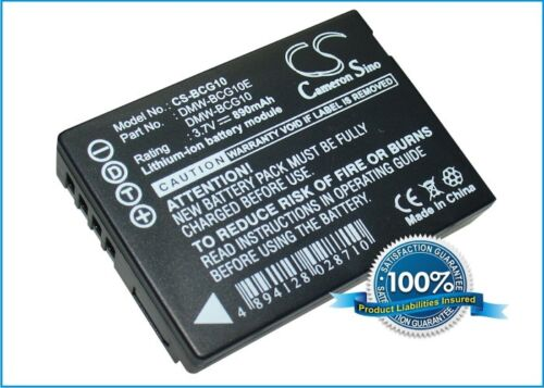 Li-ion Battery for Panasonic Lumix DMC-ZS3R Lumix DMC-TZ8 Lumix DMC-TZ8EG-S NEW