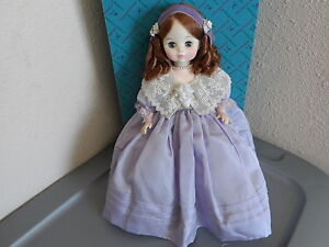 "Madame Alexander Vintage Doll 1968 Mimi 14"" Original Box And Tags 1411"