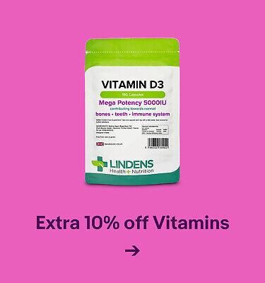 Extra 10% off Vitamins