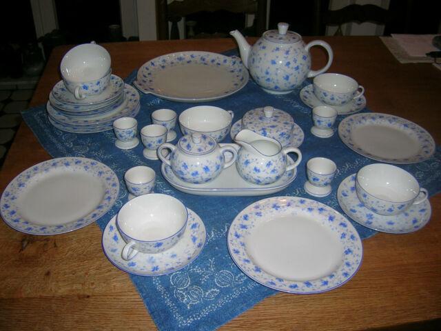 Blaublüte Arzberg Tee Gedeck 1382
