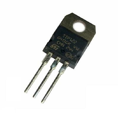 10pcs TIP122 NPN Transistor Darlington Complementary 100V 5A Amplifier TO-220
