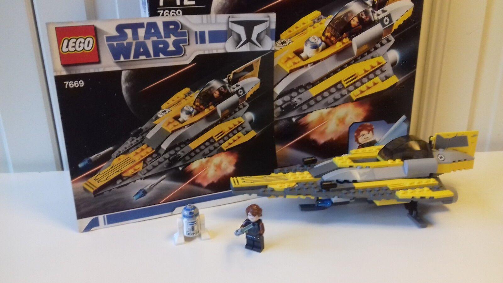 Lego® Star Wars 7669, Anakin's Jedi Starfighter.