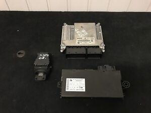 BMW-E81-E82-E87-E90-E91-E60-E61-2-0d-N47-DIESEL-ENGINE-SET-DDE-CAS-3-KEY-LOCK